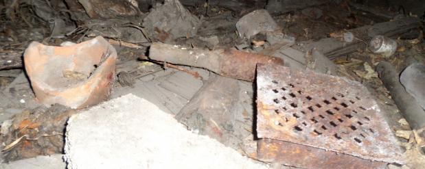 Омич нашел во дворе своего дома ручную гранату времен Первой мировой войны