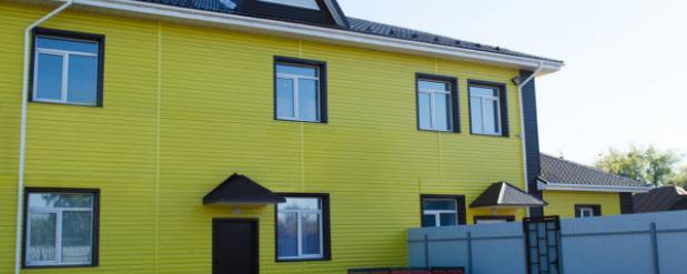Десятый частный пансионат Омска для престарелых и инвалидов носит название «Забота»