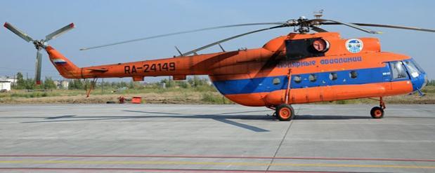 Омский свинокомплекс стал площадкой для вынужденной посадки Ми-8