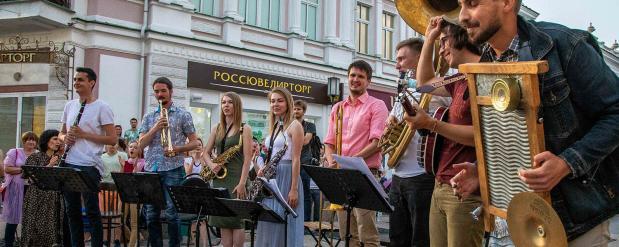 В Омске прошел праздник ночи музыки